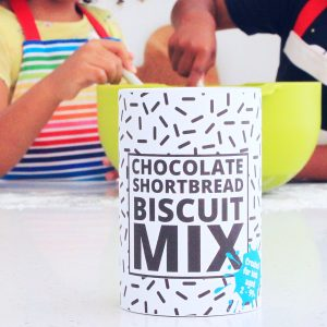 Chocolate Shortbread Biscuit Mix