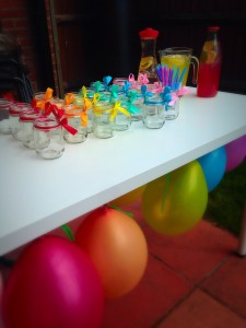drinks table