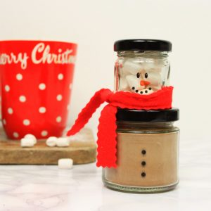 Hot Chocolate & Marshmallow Snowman