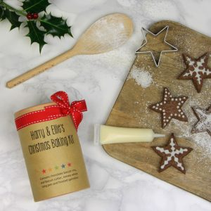 Chocolate Star Biscuit Kit