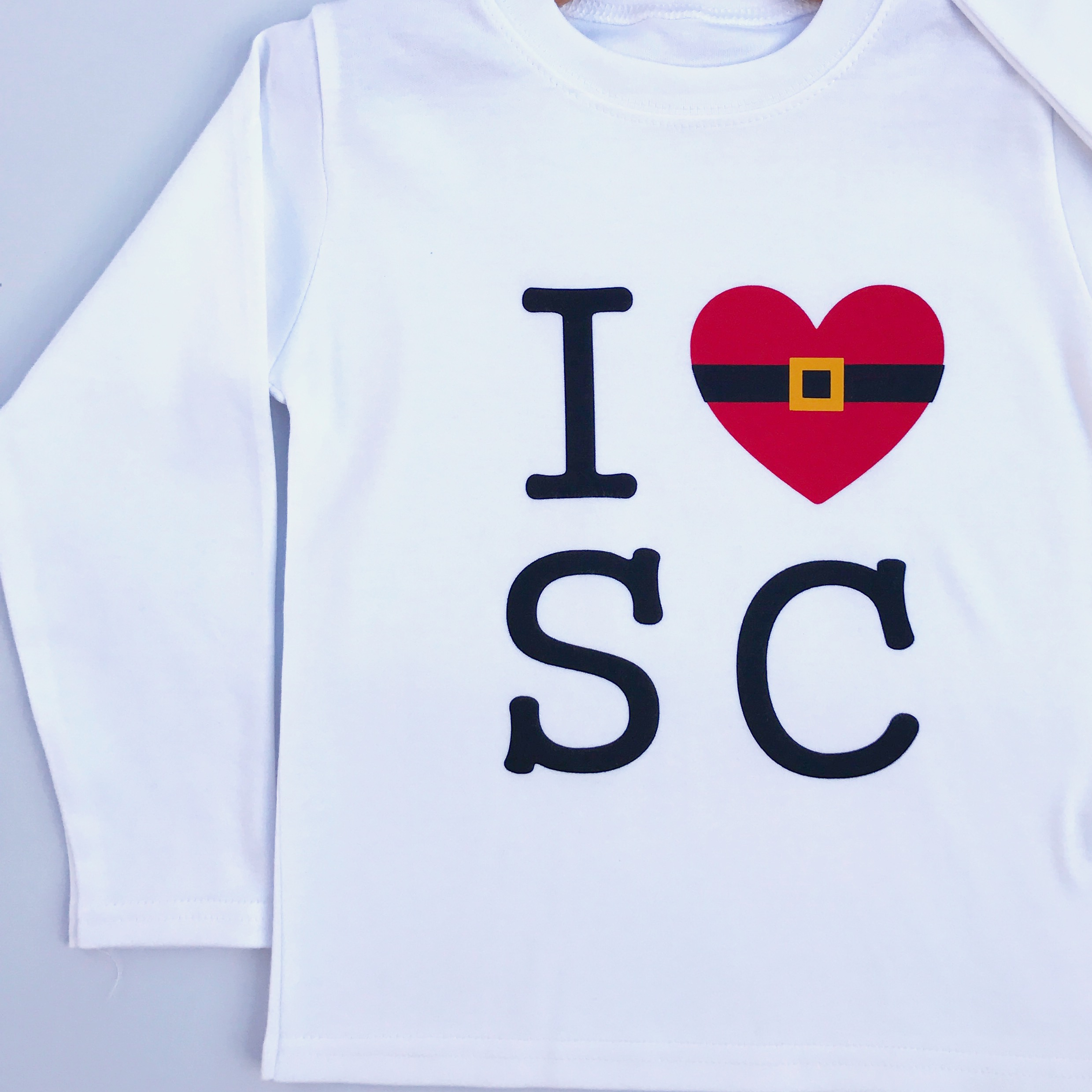 Iheart Christmas.I Heart Santa Claus Christmas T Shirt