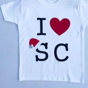 I Heart Santa Claus Christmas t-shirt