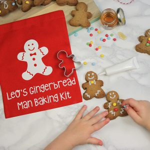 Gingerbread Man Baking Kit