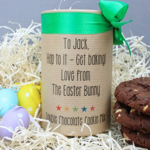 Personalised Easter Double Choc Cookie