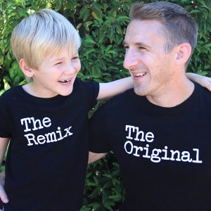 Father and Child t-shirts