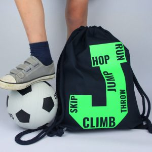 Personalised Initial PE Bag