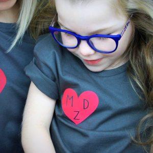Mummy's heart t-shirt