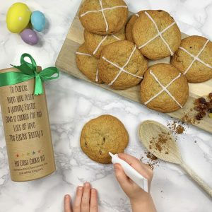 Personalised Hot Cross Cookie Mix