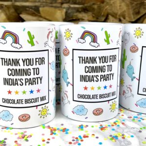 Magical fun chocolate biscuit mix party favour